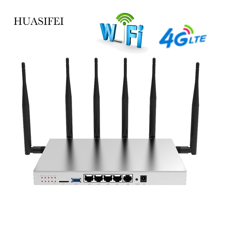 openwrt wifi router gigabit support vpn pptp l2tp 1200mbps 2 4ghz 5ghz usb 3 0 port 3g 4g router with sim card slot access point WG3526 WiFi Router Gigabit Support VPN PPTP L2TP 1200Mbps 2.4GHz/5GHz USB 3.0 Port 4G 5G Router With SIM Card Slot Access Point