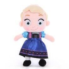 Princesse congelée Anna & Elsa jouets en peluche Disney 30 cm poupées enfants jouets de mariage filles cadeau danniversaire filles mignonnes jouets Kawaii jouets
