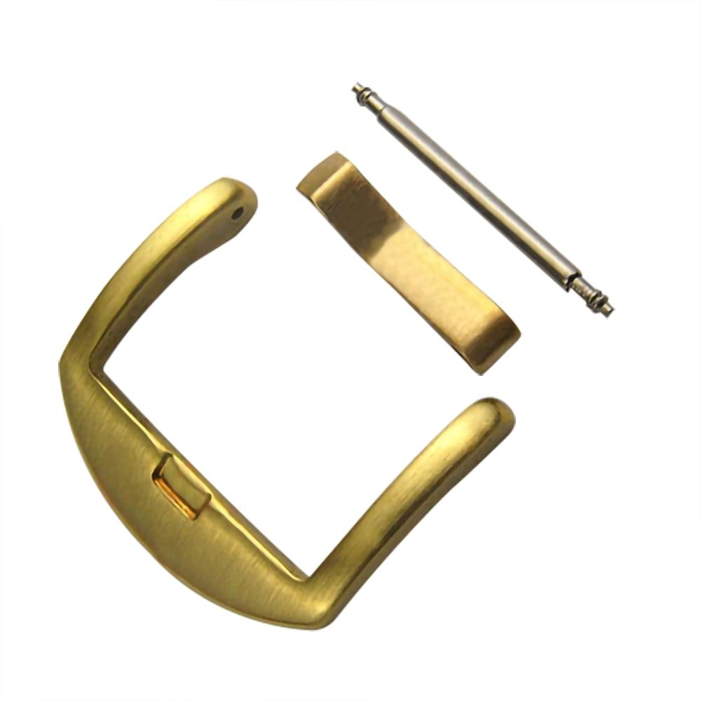 Relógio fivela clacp 18mm 20mm 22mm 24mm bronze bronze pulseira fecho fivelas relógio de pulso ferramenta de reparo acessório