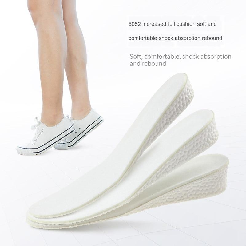 Plantilla de amortiguación de movimiento aumentada, amortiguación de baloncesto, transpirable, elástica, suave, plantilla de refuerzo