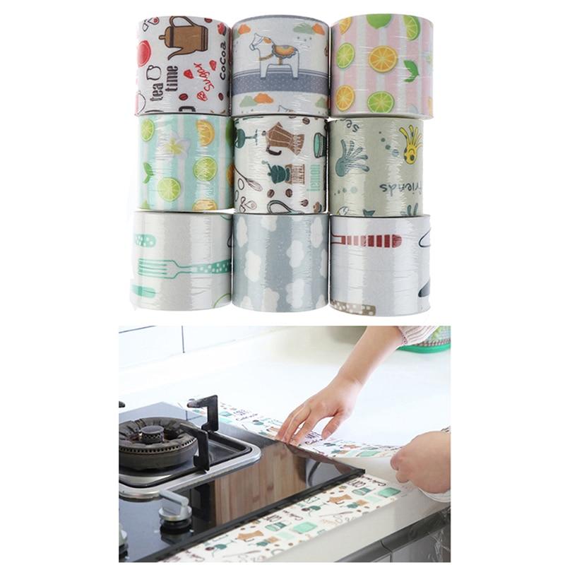 Kitchen Bathroom Sealing Strip Tape Waterproof Sink Basin Sticker Line Stripe Bar Protection Tools
