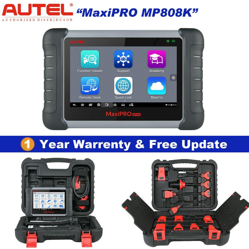 Autel MaxiPRO MP808K Auto Car Diagnostic Scanner Tool ABS, DPF, EPB, SAS, SRS, Engine Oil Reset Better Than MaxiSys MS906 DS808