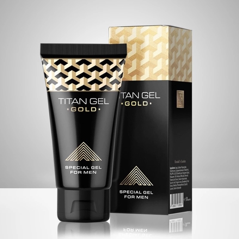 TITAN GOLD Penis GOLD Intimate Gel For Man For Dick Enlargement Cream Help Male Potency Growth Delay