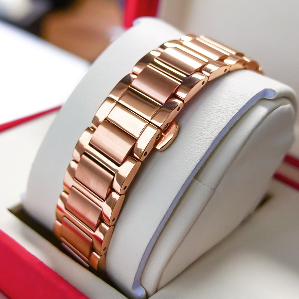 2021 New Reef Tiger/RT Top Brand Elegant Self Winding Womens Watch Date Rose Gold Diamond Watches Blue Bracelet Watches RGA1592 enlarge