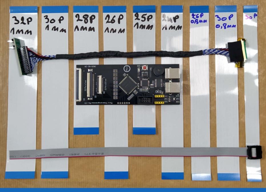 ITE Ene Micro IO Programmer, ITE8586, KB9012, Nuvoton, EDID Ver 3.9 + EDID Cable