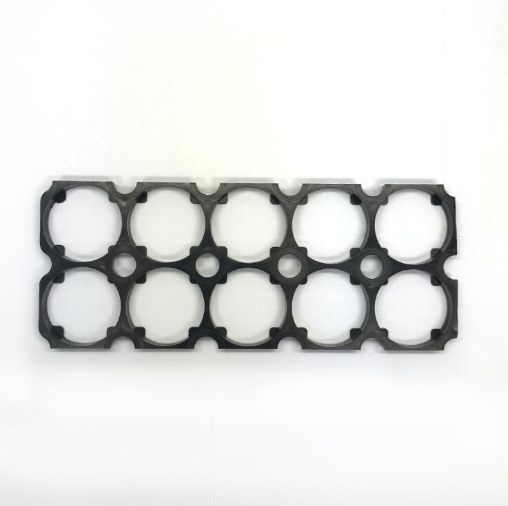 30 unids/lote MasterFire 2*5 32650 soporte para batería de litio soporte de seguridad celular Anti Vibración abrazaderas de plástico para baterías 32650