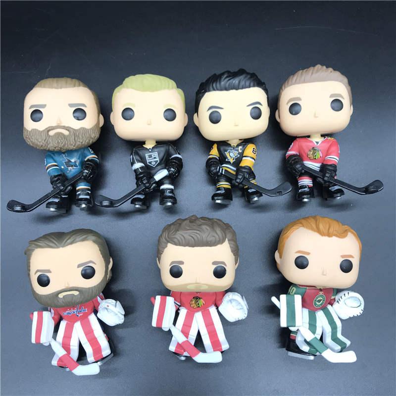 hockey Character model toy BRENT BURNS/COREY CRAWFORD/DEVAN DUBNTK/BRADEN HOLTBY/JONATHAN TOEWS/JEFF CARTER/EVGENI MALKIN