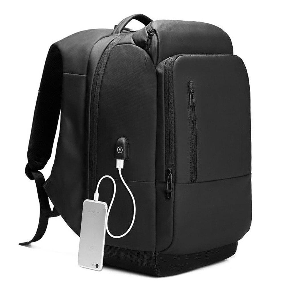 Brand Backpack for men17.3 inch Laptop bag Business 17 inch Multifunction High capacity black Travel bag backpack usb 2018 NEW