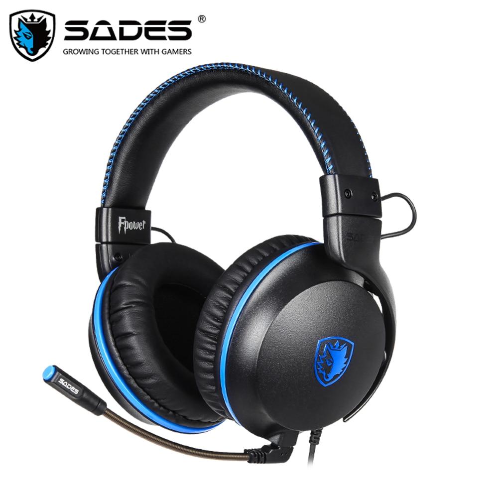 SADES FPOWER Stereo Sound Gaming Kopfhörer 3,5mm Headset Für Xbox/PS4/PC/N Schalter/Laptop /Mobile