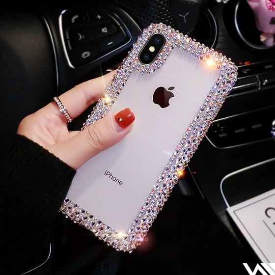 CYATO de moda Funda de cristal para Iphone X XR XS Max 6 6S Plus 7 7 8 Plus para Samsung Galaxy S8 S9 S10 Plus Lite Nota 8 9