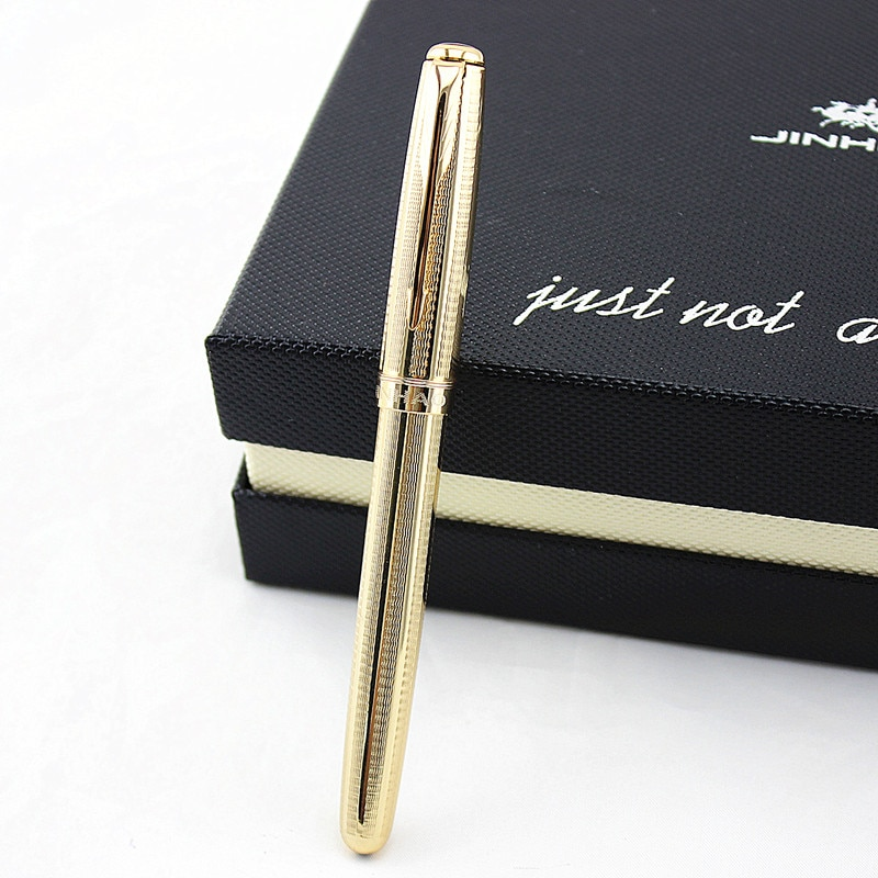 AliExpress - High quality luxury 0.5mm Fountain pen Stainless steel Classic Jinhao 601 Stationery Office school supplies