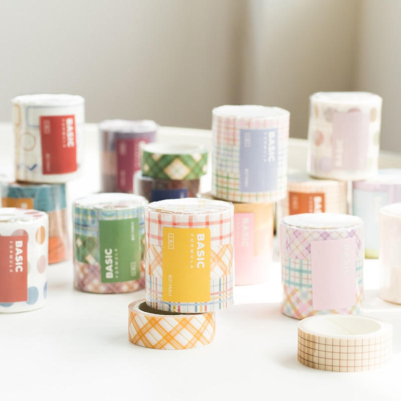 3 unids/set Washi Tape Kawaii cinta adhesiva decorativa para álbum de recortes DIY álbum de fotos vida diaria 15mm * 3m