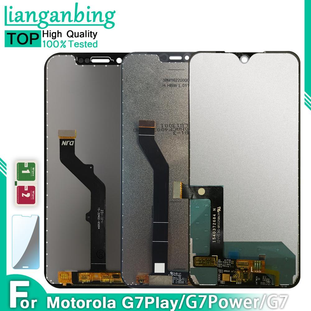 Original Display Für Motorola Moto G7 Spielen XT1952 G7 XT1962 G7 Power LCD Display Touch Screen Sensor Panel Digitizer Montage