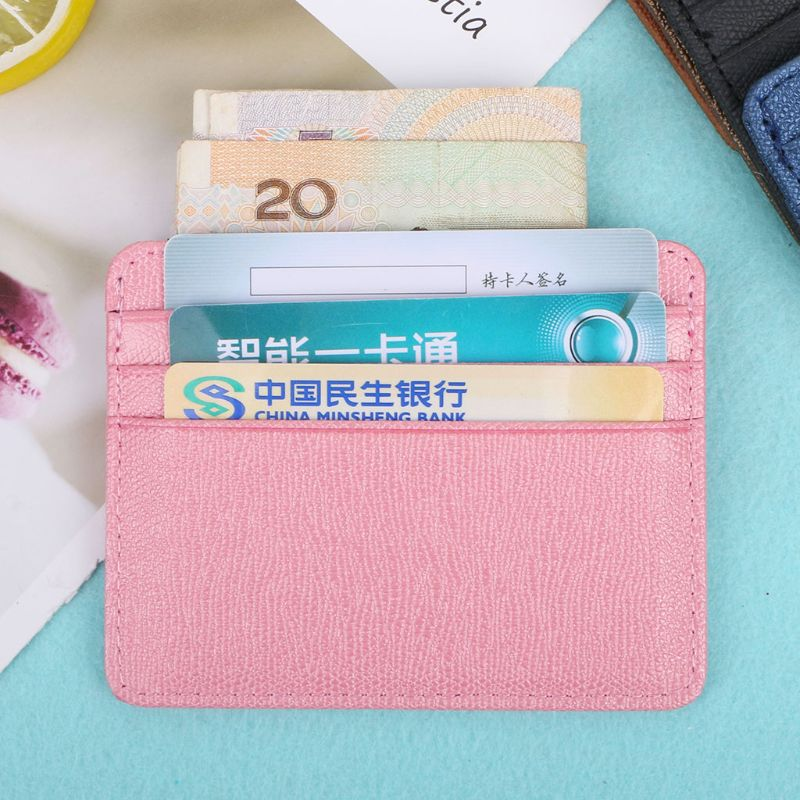 Card Holder Slim Bank Credit Card ID Cards Coin Pouch Case Bag Wallet Organizer