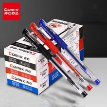 12 шт./компл. гелевые чернила 0,5 мм пластиковый материал гелевая ручка классическая серия подпись в офисе ручка для студентов подарок для пис...