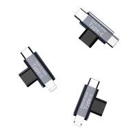 USB 3.1 Type-c USB C «мама» к двойному USB C «папа» USB «мама» к Micro USB C 8-контактному адаптеру для зарядки и передачи данных для мобильного телефона ноутб...