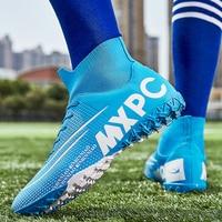 Adult Kids Futzalki for Men Boys Centipede Soccer Shoes Cleats Football Boots Futsal Professional Shoe Football Sneakers 36-45