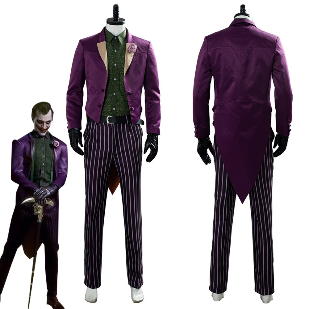 The Joker Mortal Kombat 11 Cosplay Costume Halloween Carnival Costumes For Adult Men Male Custom Made