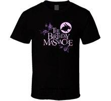 t shirt The Birthday Massacre T-Shirt Mens Round Neck Short Sleeves Bottoming T-shirt
