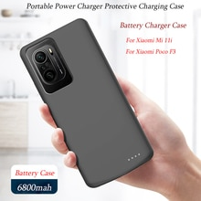 High Quality 6800mAh Battery Charger Case For Xiaomi Mi 11i Case External Backup Charging Cover For
