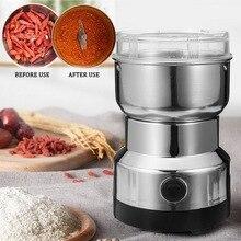 Mini hachoir électrique robot mélangeur mélangeur poivre sel ail assaisonnement broyeur extrême vitesse meulage cuisine maison outil
