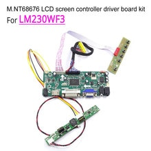 "Voor LM230WF3 Lg 23 ""1920*1080 Lcd Monitor Panel Wled Lvds 30-Pin Hdmi Dvi Vga M.NT68676 Display Controller Drive Board Diy Kit"