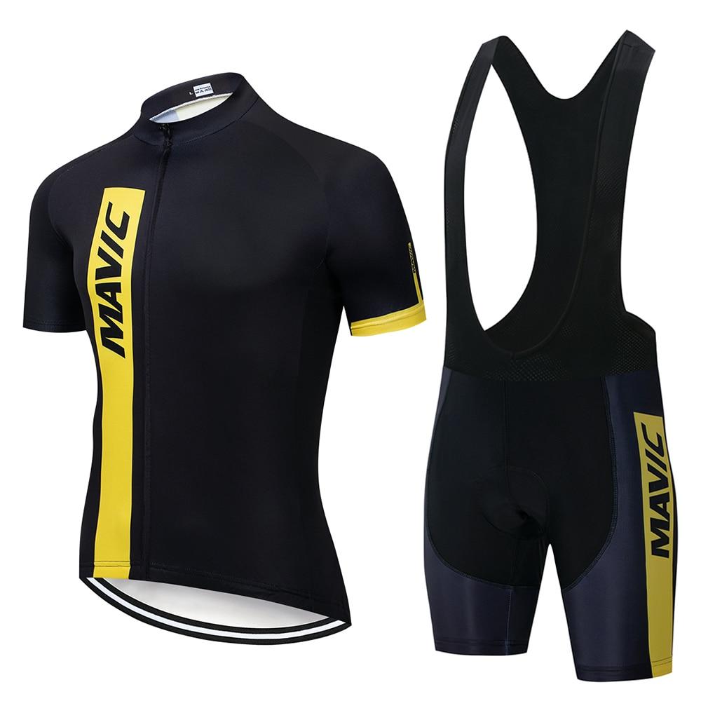 MAVIC-Maillot de Ciclismo profesional para hombre, Kit de bicicleta de montaña, triatlón,...