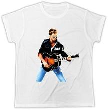 George Michael T-Shirt WHAM Guitar Music Novelty Unisex Tshirt