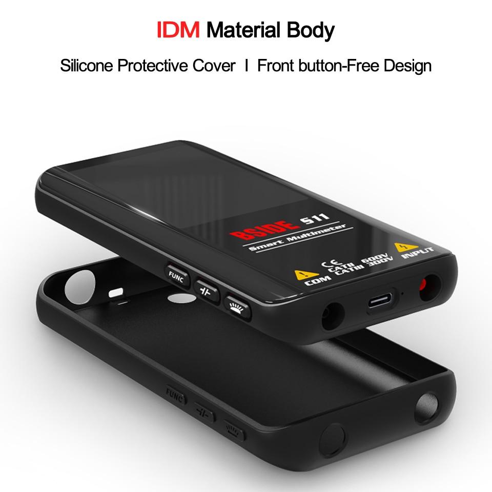 BSIDE Digital Multimeter 9999 T-RMS 3.5