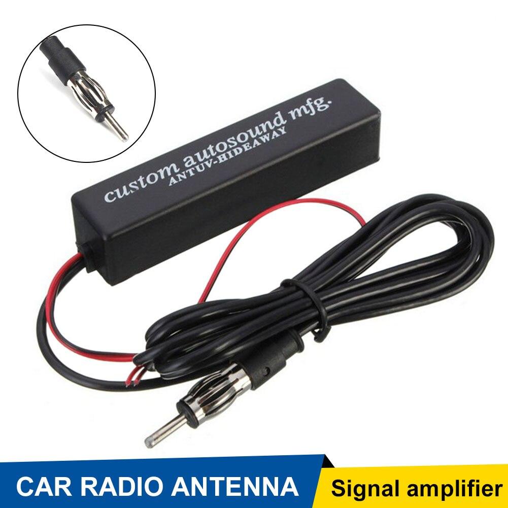 Автомобильный стерео FM и AM Антенный разветвитель радио усилитель общий мотор автоматический FM антенный усилитель