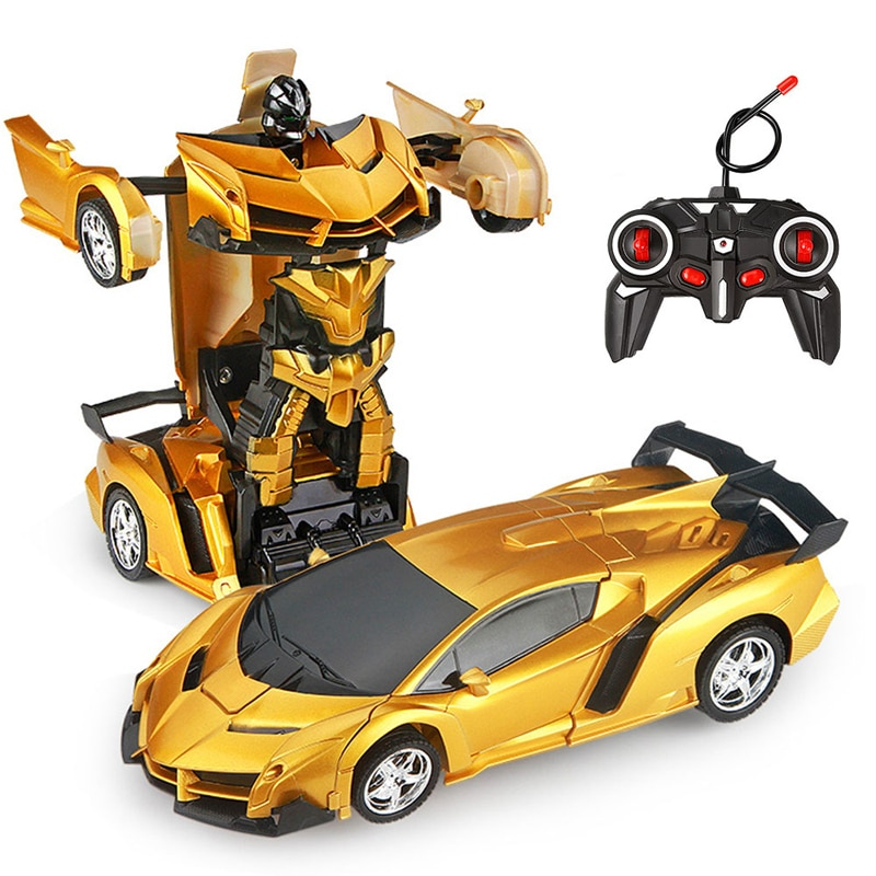 26 Styles RC Car Transformation Robots Sports Vehicle Model Robots Toys Remote Cool RC Deformation C