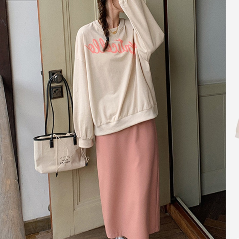 Women Skirt Suit New Salt Can Be Sweet The Western Style Street Is Lazy The Young Girl Feels Wearing A Suit + Half Skirt Two