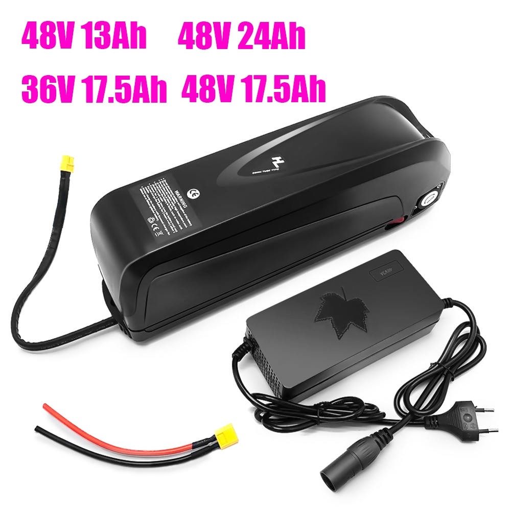 Original 48v bateria 48v 20ah 52v poderosa bateria ebike 36v hailong max 40a bms 250w500w 750w 1000w 1500w para bbs02 bbs03 bbshd