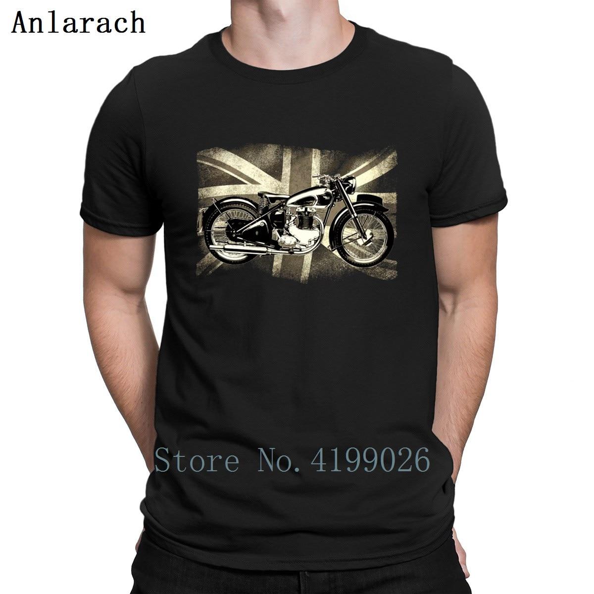 Hot_Bsa_Retro britannique classique icône Patjila2 t-shirts photos printemps hommes moto graphique t-shirt Streetwear Biker hauts