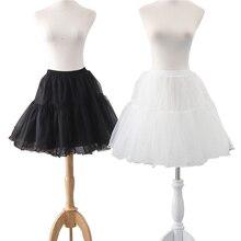 Été nouveau 2 couche dames décontracté jupe courte mode plissée jupe crinoline jupon tutu mariage bal costume jupe