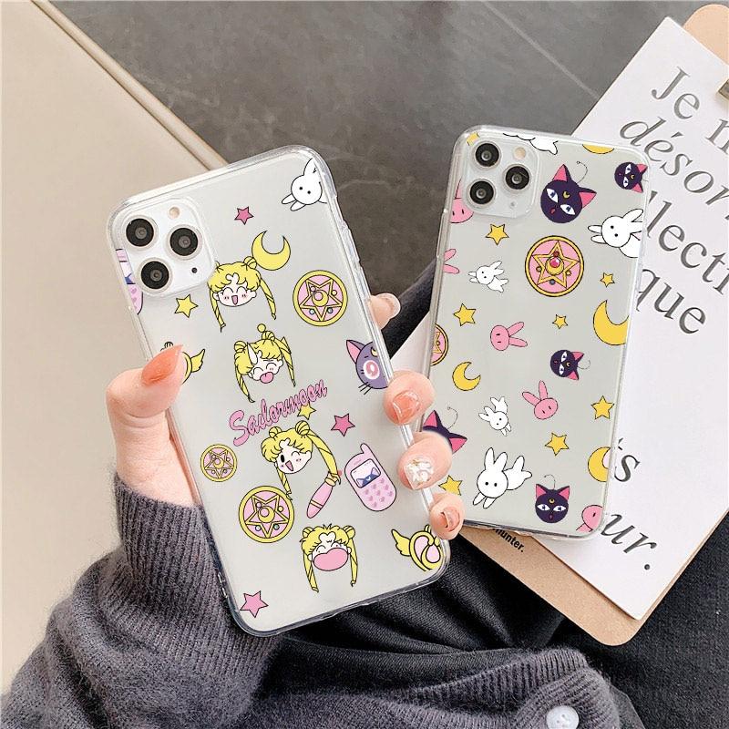 Милый чехол для телефона Sailor Moon, для Huawei Mate 30 20 Pro P30 p20 Lite Pro Nova 3 4 5 P smart Y9, для Honor V20 10 8x 8a 20, мягкий чехол