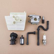 Carburateur avec filtre à Air filtre de ligne de mazout pour Stihl 024 026 MS240 MS260 Rep Walbro WT-194, Tillotson HU-136A , 1121 120 0611