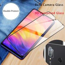 9D 렌즈 보호 유리 7 6 5 프로 4 4X 카메라 강화 유리 Xiaomi Redmi K20 프로 스크린 보호대 Redmi 참고 8 프로