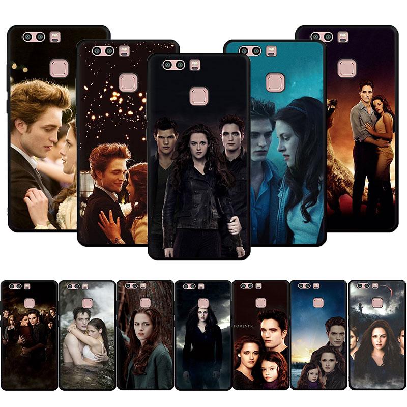 Funda de teléfono blanda Saga Crepúsculo para Huawei P9 P10 P20 P30 P40 Pro Lite P Smart Z Plus 2018 2019