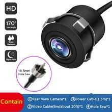 170 ° grand Angle HD Vision nocturne caméra de recul très étanche inversion moniteur voiture caméra de recul Parking Camcorde