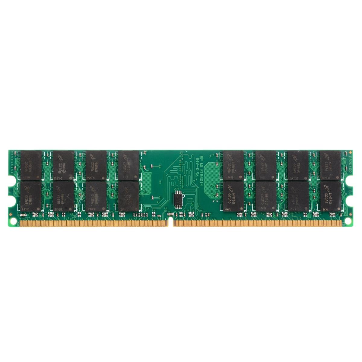 Barra de memoria RAM de escritorio de 4GB DIMM DDR2 677MHZ 240Pin 4GB, módulo de memoria de ordenador PC de escritorio para placa base AMD