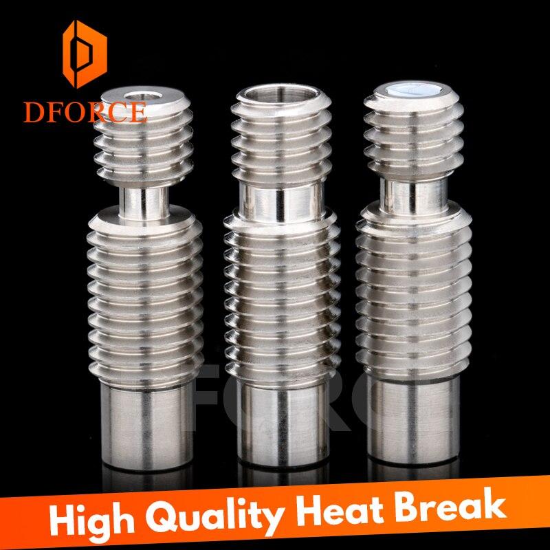 1 шт. высокое качество тепловой пробой для E3D V6 HOTEND Vocano нагреватель Блок 1,75 мм нити дистанционного питания трубка 3D принтер аксессуары
