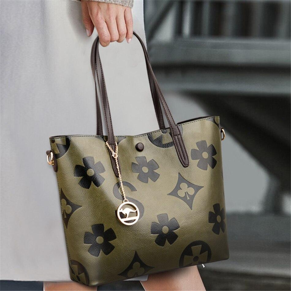 3 Layers Sac Luxury Handbags Women Bags Designer Big Crossbody Shoulder Bags for Women 2021 Large Ladies Leather Hand Tote Bags