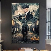 peaky blinders figure posters season tv show series canvas painting prints wall art picture living room home cuadros decoration