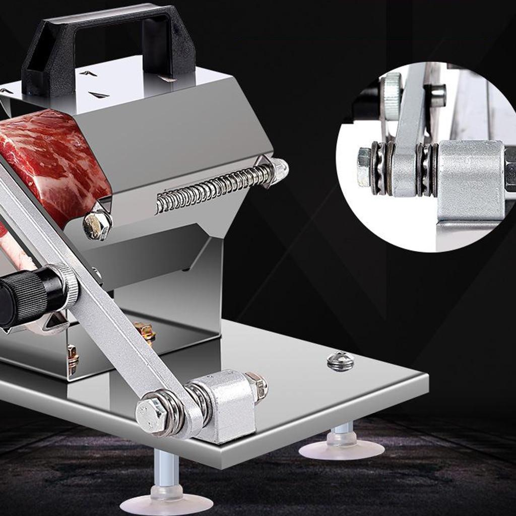 Manual de Carne para Hotpot Inoxidável Congelada Slicer Carne Rolo Erva Aço
