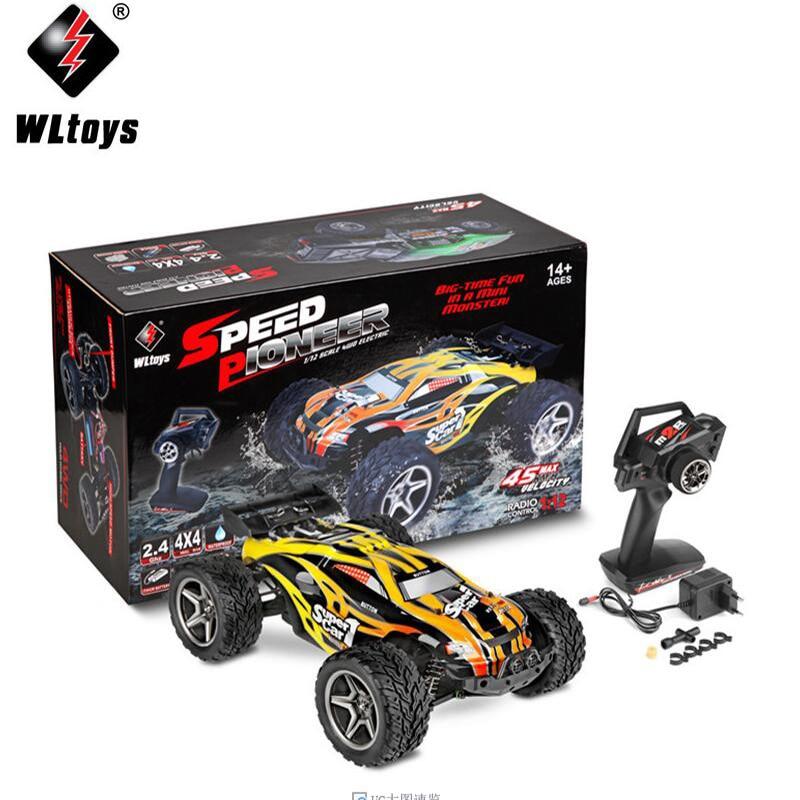 WLtoys 12401 12402 12403 12404 2,4 1/12G 4WD, coche todoterreno, coche de carreras de competición, camión corto Bigfoot