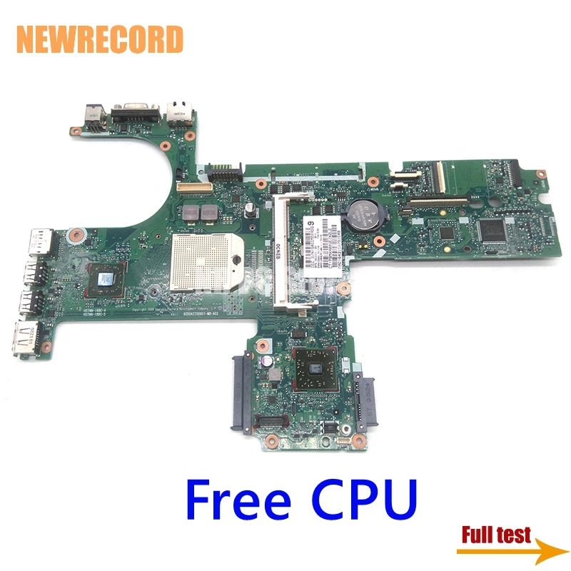 NEWRECORD 6050A2356601-MB-A02 613397-001 كمبيوتر محمول لوحة رئيسية لأجهزة Hp Probook 6445B 6455B 6555B DDR3 المقبس S1 شحن CPU اللوحة الرئيسية