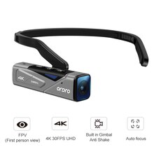 Ordro EP7 Video Kamera Mit 128G SD Karte Camcorder 4K Full HD WiFi FPV Fernbedienung Kamera Videos vlog Camara de video