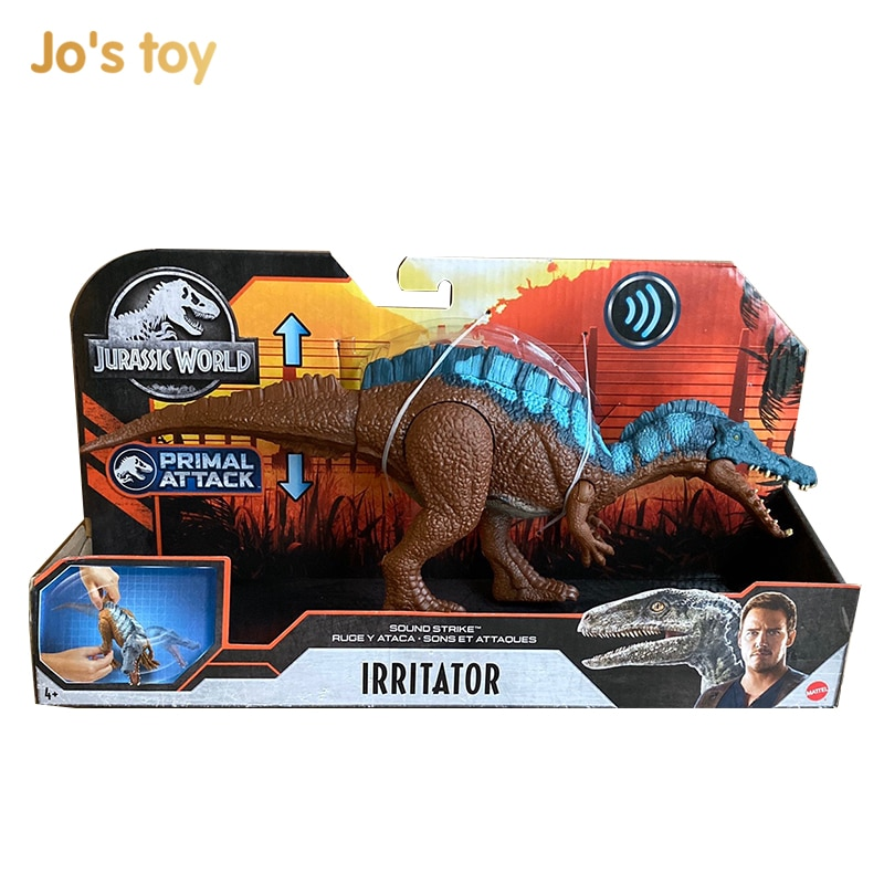 jo s toy dino rivals roarivores metriacanthosaurus dinosaur toys sound effect action figure toys boy gift movie section in stock Jo's toy Irritator dinosaur sound effects movable dinosaur toys 2020 new boy gift in stock