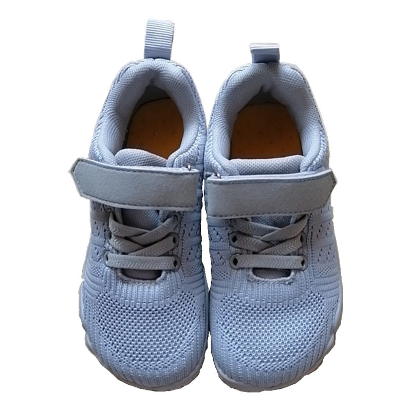 ZZFABER Kids Flexible Barefoot Shoes Children Flat Breathable Mesh Sports Shoes for Girls Boy Soft S